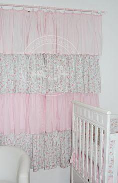 cortina babados