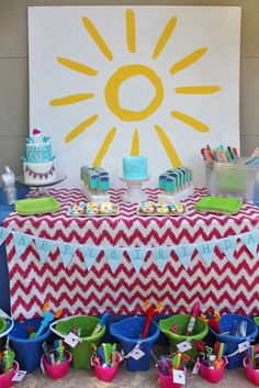 Awesome beach ball pool birthday party! See more party ideas at CatchMyParty.com!