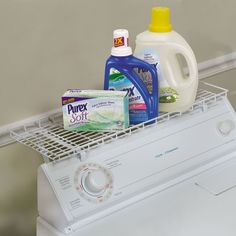 Over the Washer Laundry Room Organizer