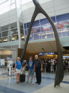 Giant wishbone at DFW airport