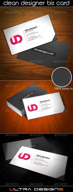 Buy Clean Designer Business Card by business_cards on GraphicRiver. Clean Designer Business Card Specifications: Highly Organized and Layered PSD files Customizable and Editable CM. Business Card Design, Creative Business, Business Cards, Print Templates, Card Templates, Event Flyer Templates, Color Profile, Cards Against Humanity, Cleaning