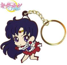 Sailor Mars Pinched Keychain ~ Sailor Moon Crystal $6.50 http://thingsfromjapan.net/sailor-mars-pinched-keychain-sailor-moon-crystal/ #sailor mars #sailor moon #Japanese anime keychain