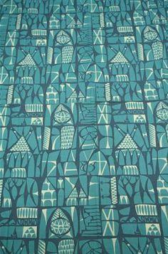By The Bolt | Fabric Pattern Reference: Stig Lindberg Fabrics