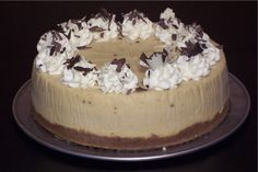 Irish Cream Cheesecake from Bread Winners Cafe and Bakery in Dallas, TX