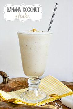 Banana Coconut Shake #outshine