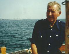 Theodor Hansen (1911-1996). Skipper på stenfiskerfartøjet StF83 HAABET og K1054 KAREN. Foto udlånt af Theodor Hansens sønnesøn Jan Hansen, Bogø.