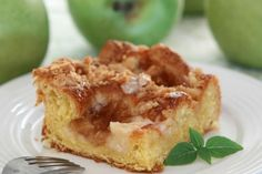 Thanks to cinnamon, nutmeg, cloves, and apples, of course, this Crock-Pot Apple Pie Coffee Cake will make your whole home smell amazing on Christmas morning.