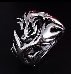 men's titanium steel ring #men fashion #men's jewellery #jewellery #hot #fashion #silver #trending #designer