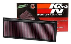 K&N 33-2865 High Performance Replacement Air Filter. For product info go to:  https://www.caraccessoriesonlinemarket.com/kn-33-2865-high-performance-replacement-air-filter/