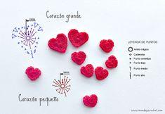 51 ideas for crochet flowers chart cross stitch Crochet Brooch, Crochet Motifs, Crochet Bracelet, Crochet Chart, Love Crochet, Diy Crochet, Crochet Doilies, Crochet Earrings, Crochet Flower Tutorial
