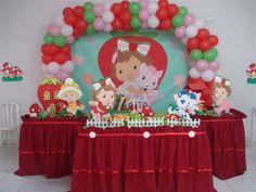 Strawberry Baby, Strawberry Shortcake Party, 5th Birthday, Birthday Cake, Birthday Parties, Snow White Birthday, Alice, Birthday Decorations, Party Planning
