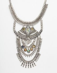 Image 1 of New Look Premium Statement Necklace