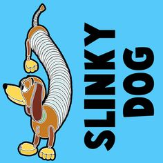 How to Draw Slinky Dog from Toy Story with Easy Step by Step Drawing Tutorial