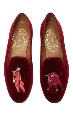 stubbs wootton bull and matador slippers