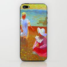 THE SISTERS - Reproduction of American Impressionist Frank Benson painting from 1899 iPhone & iPod Skin