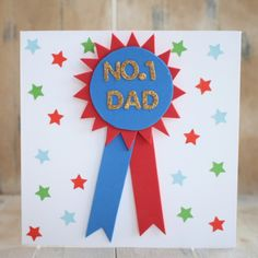 4 Quick Father's Day Cards #FathersDay #KidsCrafts