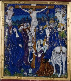 Triptych with Crucifixion | 44.149 | The Walters Art Museum