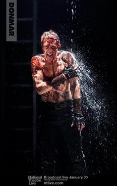 Donmar Warehouse: The reviews are in but let's start the day with another photo of Tom Hiddleston as #Coriolanus