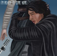 "iamsithprincess: ""these-are-the-first-steps: ""thedarkside-and-thelight: ""terapid: "" The ending we deserve. For my incredibly talented and lovely reylo family: @perrydowning @thedarkside-and-thelight..."