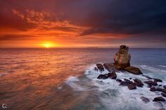 Photograph Sunset Blast by Carlos Resende on 500px