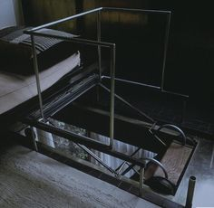 Pierre Chareau | Maison de Verre retractable stair