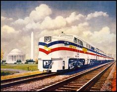 American Freedom Train (1940s). This train toured the entire United States.