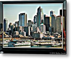 Seattle Acrylic Print By Holley Jacobs