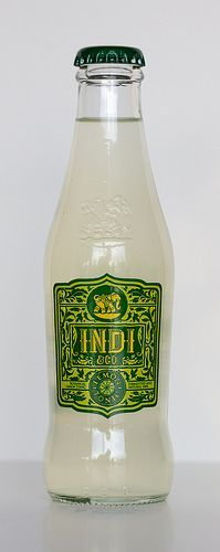 Indi & Co Lemon Tonic Tonic Water, Gin And Tonic, Coffee Bottle, Carafe, Packaging Design, Vodka, Lemon, Cocktails, Alcohol