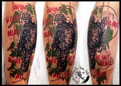 War by dimitris grapsias koi tattoo