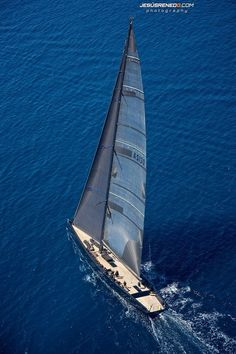 a Wally - absolutely majestic under sail