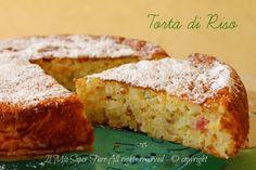 Torta di riso dolce ricetta facile dal sapore delicato,golosa, con una consistenza che conquista.E' la torta degli addobbi bolognese ricca di canditi,uvetta