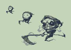 #death #skull #pixelart