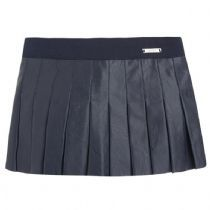 Girl-Junior - Navy Leatherette Skirt