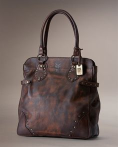 Vintage Stud Tote - View All Leather Handbags For Women - The Frye Company