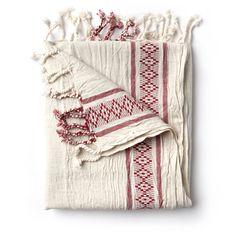 Dust bag inspiration - turkish hammam Towel