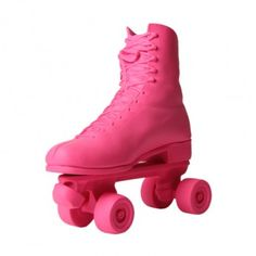 Doorstop with a difference: Ceramic pink roller skate Pink Roller Skates, Diy Spray Paint, Interior Accessories, Tween, Rubber Rain Boots, Children, Kids, Girly, Doorstop
