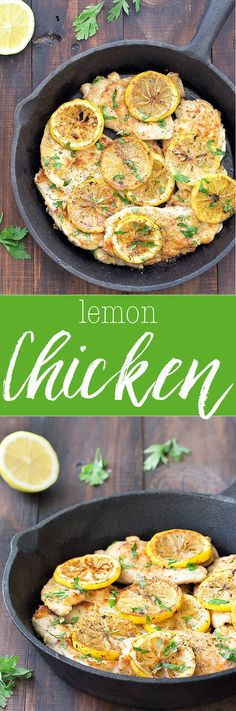 A tasty recipes ready in under 20 minutes and with a short ingredient list. This 5 ingredient lemon chicken is perfect for a quick and easy weeknight dinner.