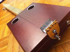 Picture of Build an Inexpensive Cigar Box Guitar at Home