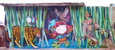 Mural en Valparaíso-MTV Brasil | Julieta XLF