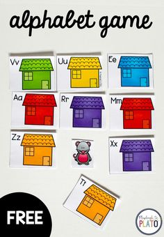 FREE Little Mouse, Little Mouse Alphabet Game! A fun way for preschool and kindergarten kids to work on their ABC recognition through a playful game a rhyme. Alphabet Activities Kindergarten, Abc Preschool, Teaching The Alphabet, Kindergarten Centers, Homeschool Kindergarten, Phonics Activities, Literacy Centers, Circle Time Games, Circle Time Activities