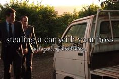 stealing a car with your boss || Grant Ward, Phil Coulson || justagentsofshieldthings || #fanedit #humor
