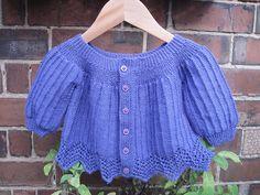 Ravelry: Carolina's Sweater pattern by Andrea Wong