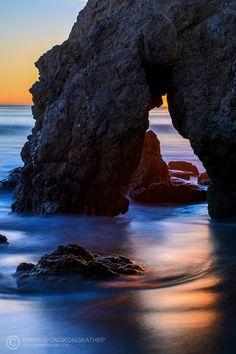 Ocean Arch, Malibu, California