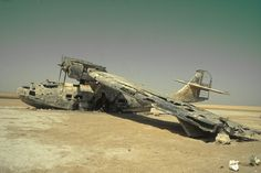 abandoned planes | The Abandoned Catalina Plane in Saudi Arabia – Decaying Through the ...
