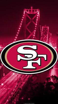 San Francisco Mobile City Team Logo Wallpaper San Francisco Mobile City Team Logo Fond d'écran 49ers Images, 49ers Pictures, Nfl 49ers, 49ers Fans, Football Team, San Francisco 49ers Schedule, San Francisco Wallpaper, Team Logo, Sf Niners