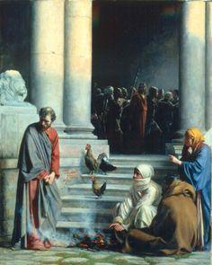 Carl Heinrich Bloch, Peter's Betrayal