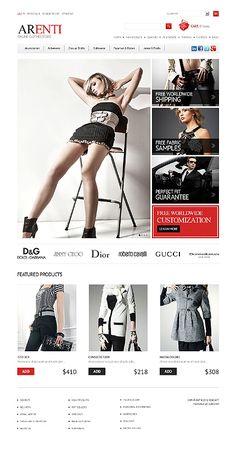 Clothes Store ZenCartTemplate  #fashion #casual #website http://www.templatemonster.com/zencart-templates/40544.html?utm_source=pinterest&utm_medium=timeline&utm_campaign=perf