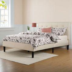 Rena Upholstered Platform Bed #platformbed