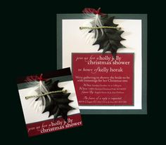 Invitation #Christmas #Wedding