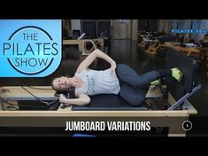 Fun Variations for jumping on the Pilates Reformer using the jumpboard! Pilates Mat Class, Pilates Poses, Cardio Pilates, Pilates At Home, Pilates Reformer Exercises, Pilates Video, Pilates Routines, Pilates Machine, Interval Training